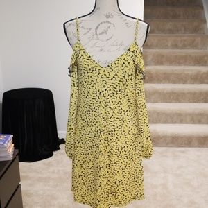 New with tags Michael Kors off the shoulder dress